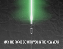 May the Force be with you in the New Year