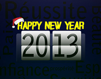 Happy New Year 2013 __ december 2012 works