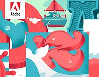Adobe Cover Illustrations