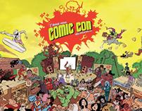 Comic Con Delhi Promotional Poster