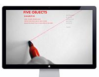 FIVEOBJECT5//WEBSITE