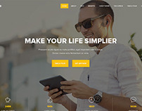 Omni - Onepage App Template