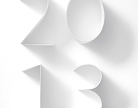 Cartiera Fabriano. Calendario 2013.