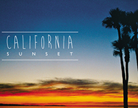 California - Sunset. All images shot on film 35mm