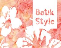 Batik Style   Poster