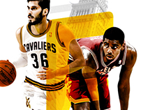 Cleveland Cavaliers Team Posters