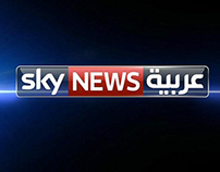 Sky News Arabia ( Video Wall )