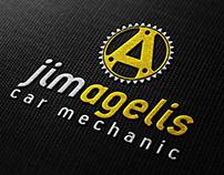 Car mechanic Brand identity