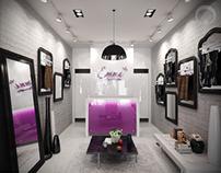 fashion showroom concept
