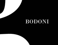 Type book: Bodoni