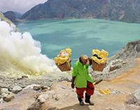 Indonesia - Following the sulfur carriers @ Kawah Ijen