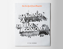 New York Times Magazine Cover: Paul Krugman