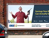 Membership Rewards Billboard for EMA
