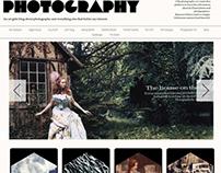 Photography Web with Database