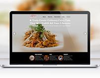 Elixor Restaurant Website Design Concepts for Redesign