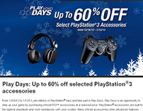 PlayStation Play Days Deals - Get Huge Discount