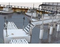 Dock Road: The Pier - Blender 3D