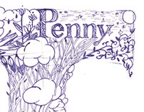 Hand drawing for Penny