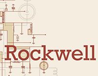 Rockwell Typography Study