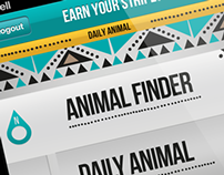 Earn Your Stripes - Saving the Endangered Animals App