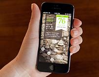 Exploring Stories, iPhone 5 App