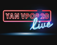 Animated logo - Yan VPOP Live