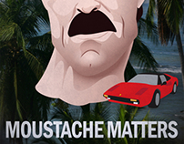 National Moustache Alliance Marketing Materials