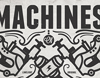 Machines of Pain and Beauty shirt design for Limelight