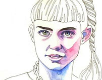 Claire Boucher's portrait