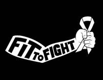 """InPower """"Fit to Fight"""" Logo"""