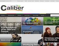 Blogger for Caliber Magazine