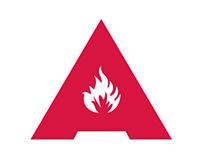 Лого для андеграунд-клуба «Луганда