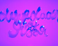 Typography Experiment