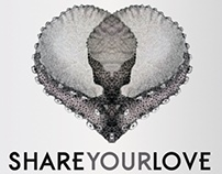 """Artwork for Tareq's single """"Share your love"""""""