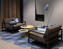 lifestyled modern house