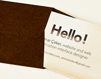 Card & Card Letter