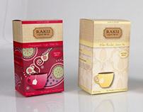 Package - Raku Tea Boxes