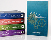 Book Covers - Parasol Protectorate Series
