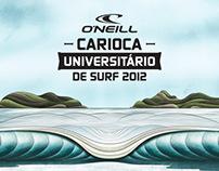 O'Neill Carioca Universitário de Surf 2012