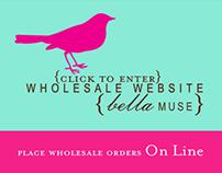 BellaMuse Wholesale Website Graphic