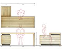 Furniture and analysis detail - Namestaj i analiza