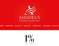 Amadeus foundation site refreshing