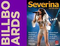 Billboard  for Croatian Pop Singer Severina, 2010
