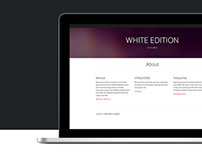White Edition : Free HTML5/CSS3 Template