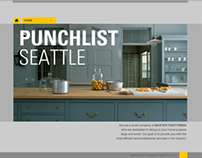Punchlist Seattle website
