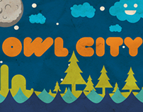 Owl City Poster Series