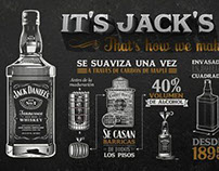Jack Daniel's, That's how we are made