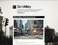 Silent Alley - Tumblr Theme