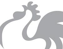 Talking clock line logos