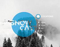 Snow cast website